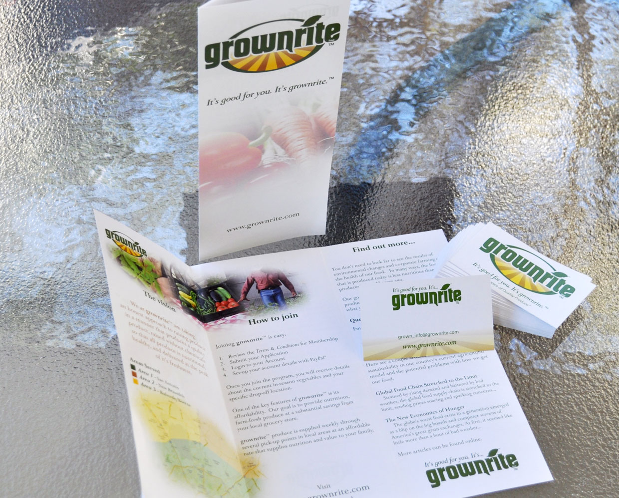 Grownrite Business Collateral